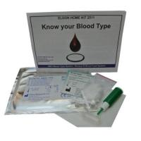 Groups 2 x Blood Type Test Kit - Group A, B, RhD Testing - Home EldonCard Tests